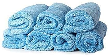 Towel Titan - Microfiber Baby Plush 7 Pack Utility Towels 16 x 16 Inches - Premium, Soft Microfiber All-Purpose Plush Towels are Safe for All Kitchen, Countertops, Bathroom Surfaces