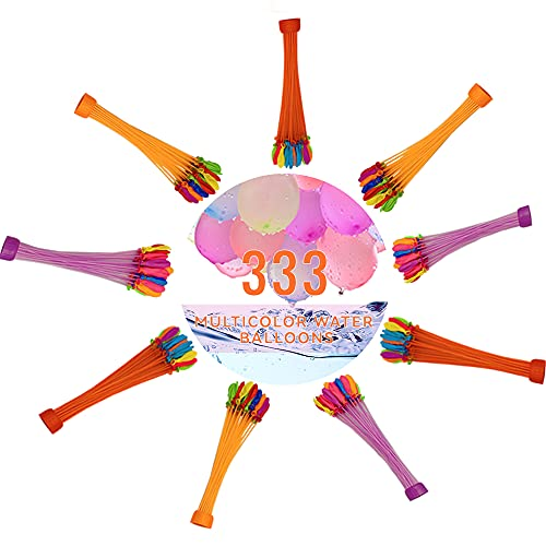 Water Balloons for Kids&Girls,333 PCS 9 Bunch of Water balloons...