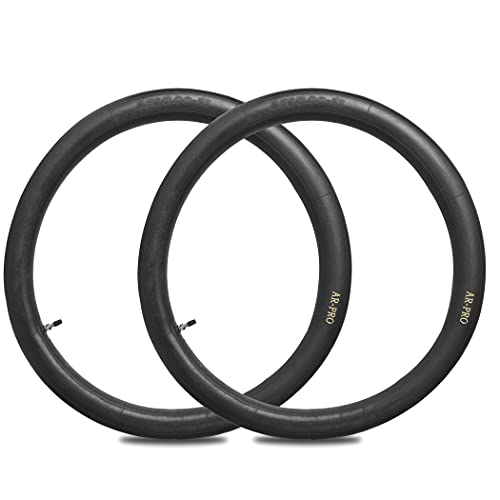 """2.75/3.00-21"""" Replacement Inner Tube 80/100-21(300/325-21) with TR4 Staight Valve Stem, Fits Motorcycle with 21'' Tires (2-Pack) - Made From Heavy Duty, Thick Premium Rubber"""