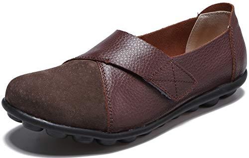 Yooeen Zapatos Mocasines Cómodos Mujer Calzado Trabajo