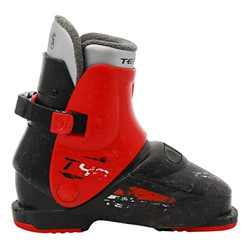 TECNOPRO Junior gebraucht Skischuh Tecno pro T40 schwarz/rot