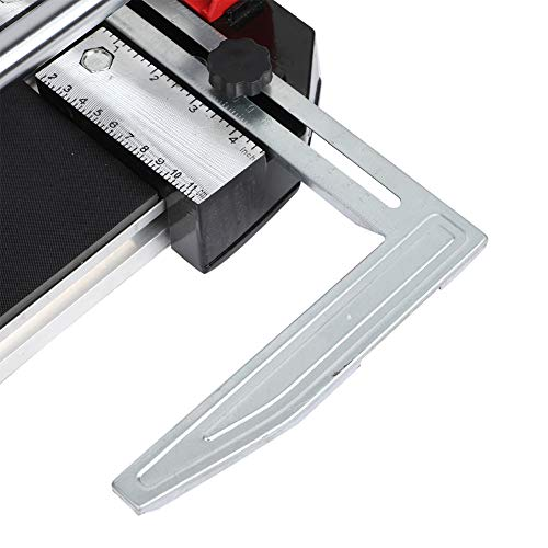 Cortador de azulejos, función de posicionamiento de la máquina cortadora de azulejos de pista sólida de acero inoxidable para decoración de edificios para el hogar