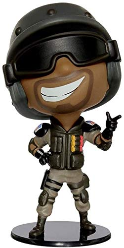 Qivor Tom Clancy's Rainbow Six Collection Castle Chibi 4' Figurine Figure from Games Gifts