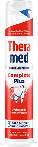 Theramed Complete Plus Zahncreme Spender, 5er Pack (5 x 100 ml)