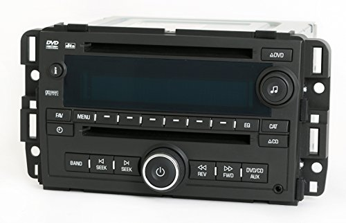 1 Factory Radio AM FM mp3 CD DVD Player Radio Compatible with 2007-2008 Chevy GMC Truck 25840249