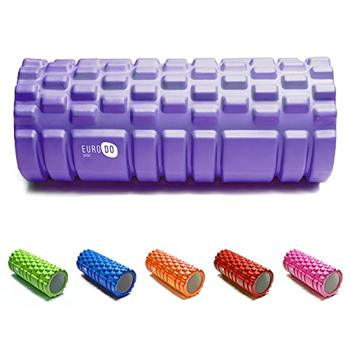 EURODO Foam Roller Against Trigger Point, Rollers for Deep Tissue Muscle...