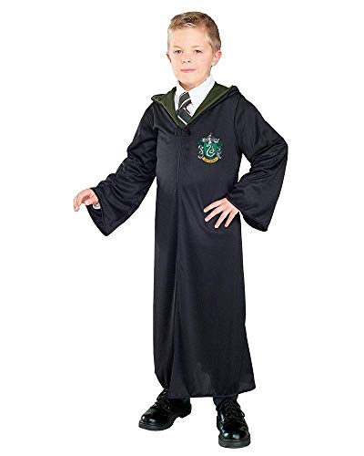 Harry Potter - Disfraz de Draco Malfoy Unisex, túnica de Slytherin, infantil 5-7 años (Rubies 884254-M)