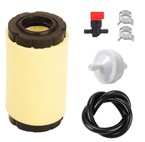 OxoxO faciles à 793569 Filtre à air 793685 Pré-Filtre Filtre à Carburant Fuel Line avec vanne d'arrêt pour 394358 394358s 4112 5098h 5098 K Tondeuse à Gazon Tune Up Kits