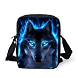 School Bags, Children's Backpacks, 3d Wolf Pattern School School School Bags, Boys And Girls School Bags, Student Bags Z2264E