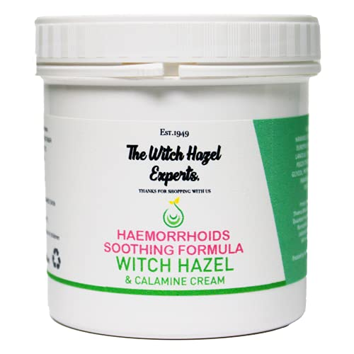 The Witch Hazel Experts   200g Haemorrhoids Soothing Cream   Reduces Inflammation, Irritation and Haemorrhoids