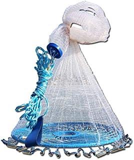 YenMY Saltwater Fishing Cast Net Magic Fishing Net Fine...