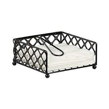 Home Basics Lattice Flat Napkin Holder