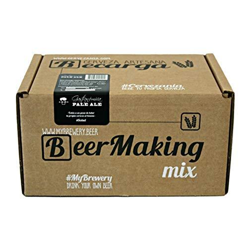 Recarga de materias primas para elaborar cerveza en casa. Receta Albero Pale Ale