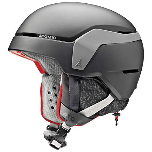 Atomic Count JR Kinder-Skihelm, S (51-55 cm), Schwarz, AN5005570S