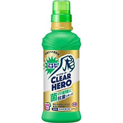 ワイドハイター クリアヒーロー(CLEARHERO)抗菌リキッド本体600ml