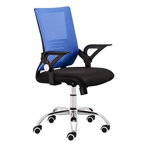 SYJY Mid Back Mesh Task Chair, ergonomischer Zeichnungsstuhl, Home Office Computer Gaming Drehstuhl