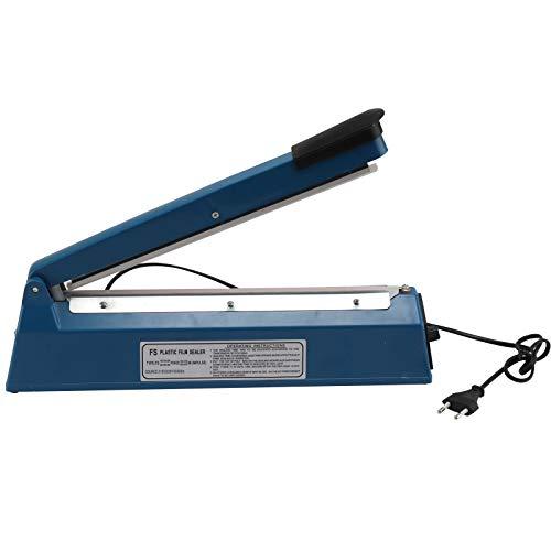 AllRight Folienschweißgerät Impuls Tüten Schweißgerät Verschweißer Balkenschweißgerät mit 300 mm Schweißlänge 8 mm Schweißbreite für Versiegelung von Thermoplastische Verpackungs- und Kunststofffolien