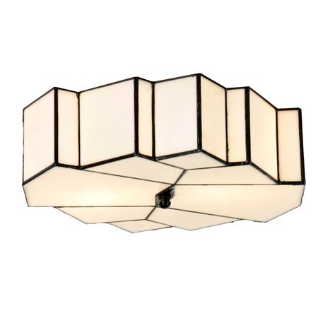 Tiffany French Art Deco Ceiling Lamp/Wall Lamp Glamour