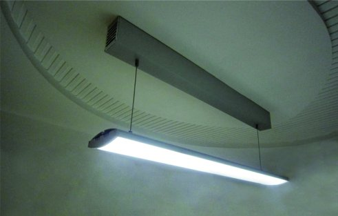 Modern aluminium profiel voor plafondlamp, LED-lineair, voor plafondlampen, ophanging of wandlamp, 1 meter
