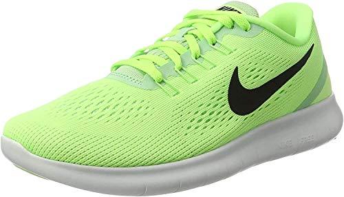 Nike Free Rn, Scarpe da Ginnastica Basse Donna, Verde (Ghost Grn/blk-fresh Mnt-off Wht), 37.5 EU