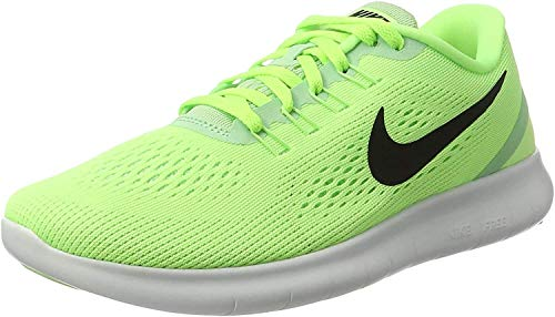 Nike Damen Free RN Laufschuhe, Grün (Ghost Green/Fresh Mint/Off White/Black), 37.5 EU