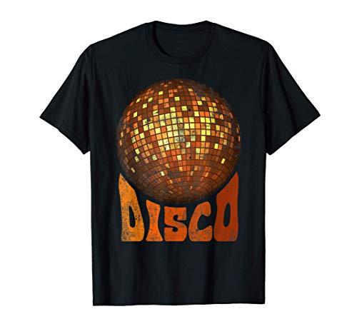 Disfraces de discoteca de los aos 70 para mujeres, hombres, Camiseta