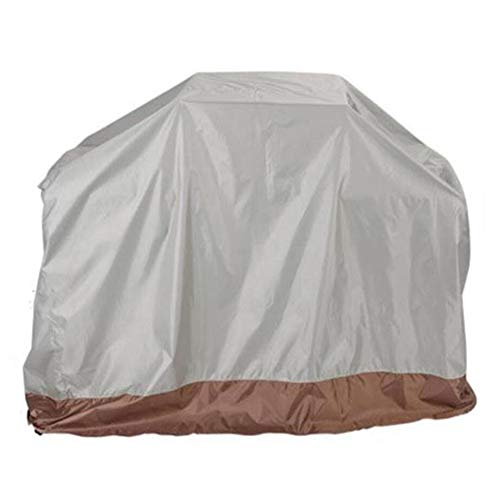 ZYF Garden Furniture Covers BBQ Grill Cover Waterproof Breathable Barbecue Cover, Size Can Be Customized Patio Furniture Covers (Color : White, Size : 150x100x125cm)