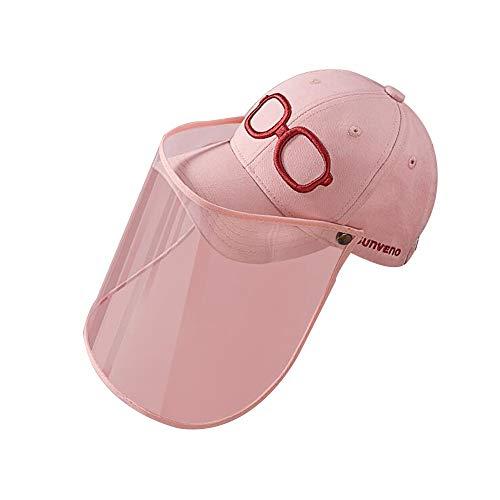 FUFU Gorros de aviador Niños sombrero for el sol con careta desmontable UV Borrar Visor de ala ancha for el casquillo del cubo for niños anti niños Baba prueba de salpicaduras Pescador sombrero al air