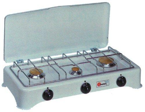 CFParker 5327 Da tavolo Gas Bianco piano cottura