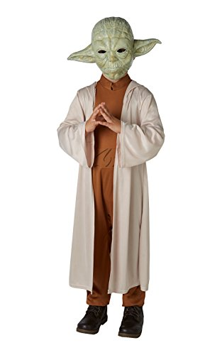 Lucas–st-630877s–Costume Lusso Yoda con maschera