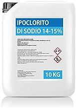 Hipoclorito de sodio 14 – 15 % – Bidón 10 kg – cloro piscina desinfección