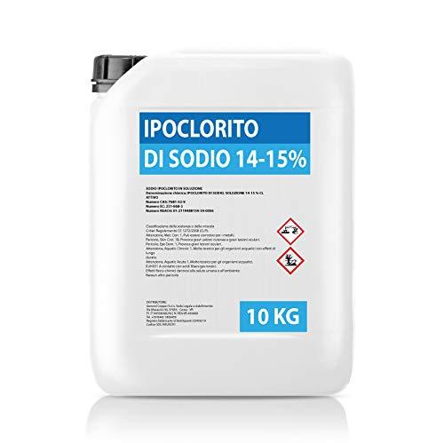 Hipoclorito de sodio 14 – 15 % – Bidón 10 kg –...