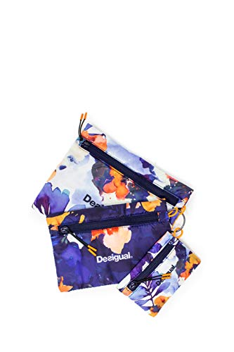 Desigual Bio Patching Toilet Bag Set Azul Tinta