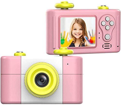 CamKing Kids Digitalkamera, Kinder-Videokamera HD1080P 1,5-Zoll-Bildschirm Kinder Foto/Video-Kameras für Kinder Digital Video Camcorder (Rosa)