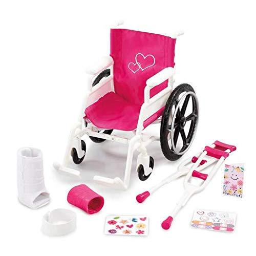 B Friends Addo Pflege-Set mit Rollstuhl, Krücken und mehr
