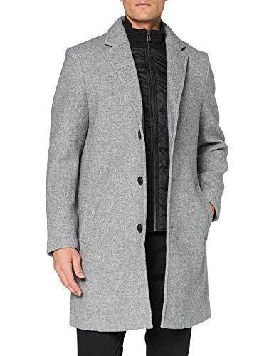 cappotto uomo di lana TOM TAILOR Basic Wollmantel Cappotto di Lana