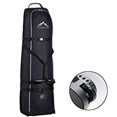 Made of premium 600D heavy duty polyester oxford, tough enough to protect your golf clubs during travel. Universal size 13 x 15 x 50 inches fits all the needs of everyday life. Enough space to hold your clubs, keys, shoes and so on. Advanced smooth z...
