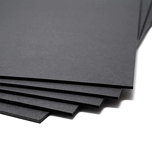 Cartón Pluma 3 mm negro, 50x70 cm (unidad)