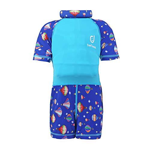 Tuta Galleggiante per Bambine Bambini - Costumi da Bagno Galleggiabilità per Ragazze Ragazzi Nuoto Abbigliamento Protezione Solare UV 1-7 Anni