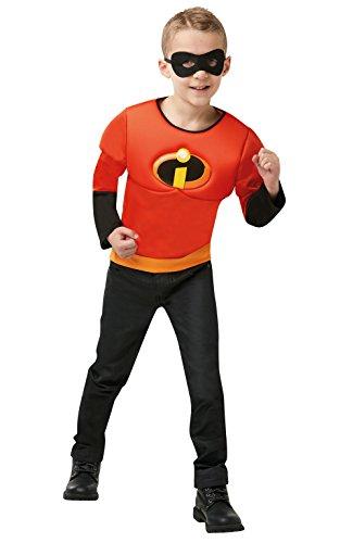 Rubie's 641392NS officiële Disney Incredibles 2 kinderen kostuum, spier Top een grootte leeftijd 4-6 jaar, jongens