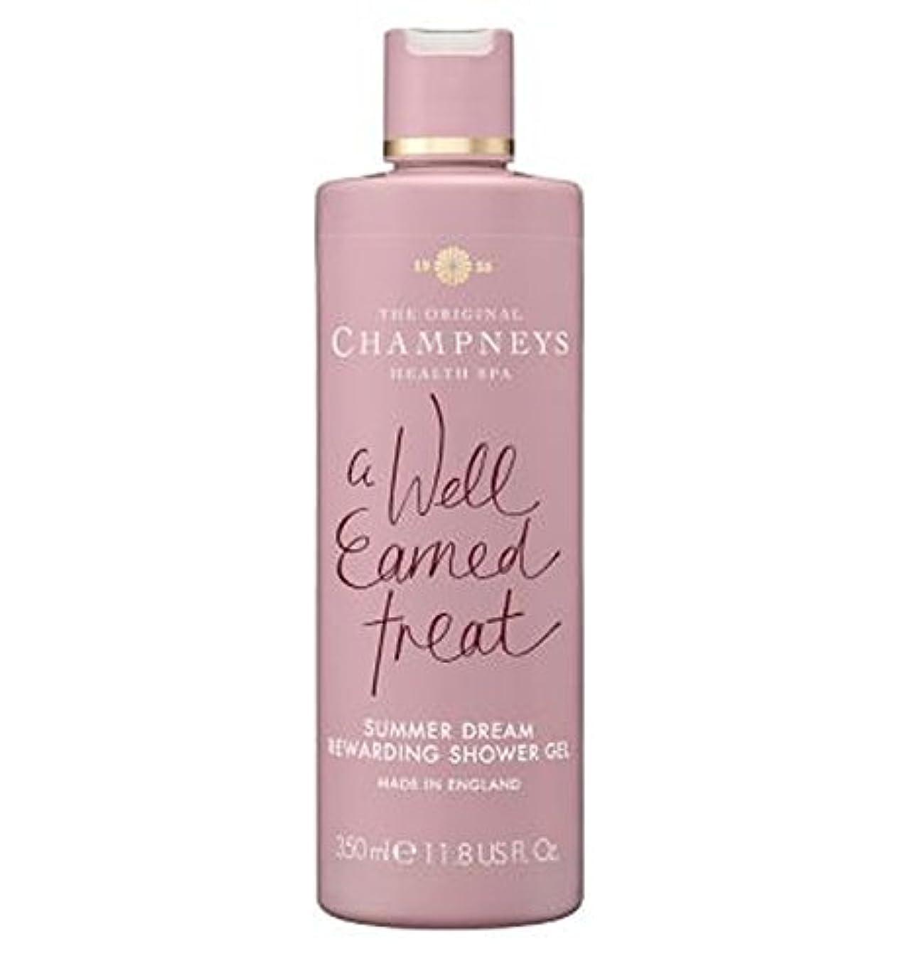 戸棚シャークギャロップChampneys Summer Dream Rewarding Shower Gel 350ml - チャンプニーズの夏の夢やりがいのシャワージェル350ミリリットル (Champneys) [並行輸入品]