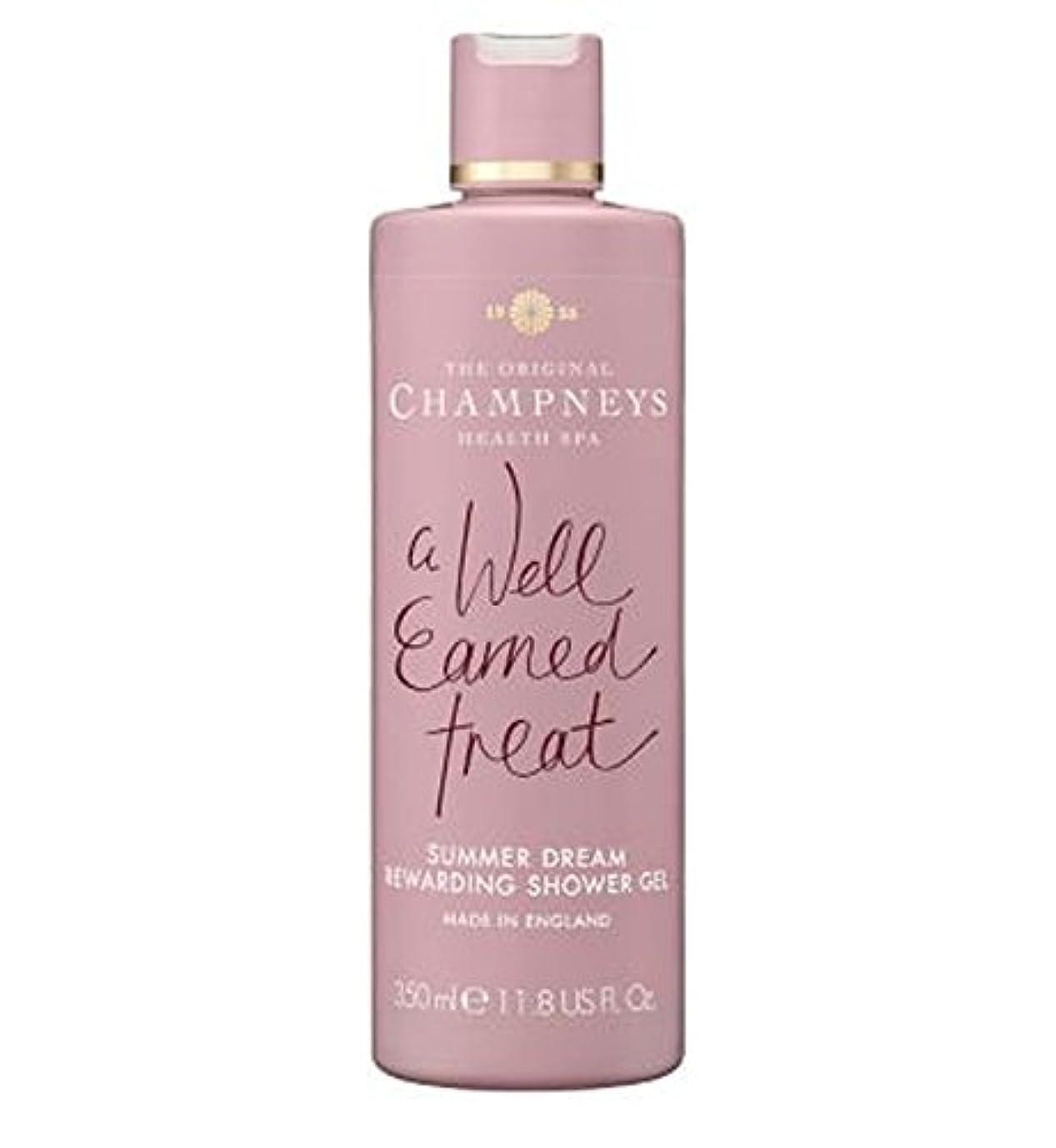 季節複数振り向くChampneys Summer Dream Rewarding Shower Gel 350ml - チャンプニーズの夏の夢やりがいのシャワージェル350ミリリットル (Champneys) [並行輸入品]
