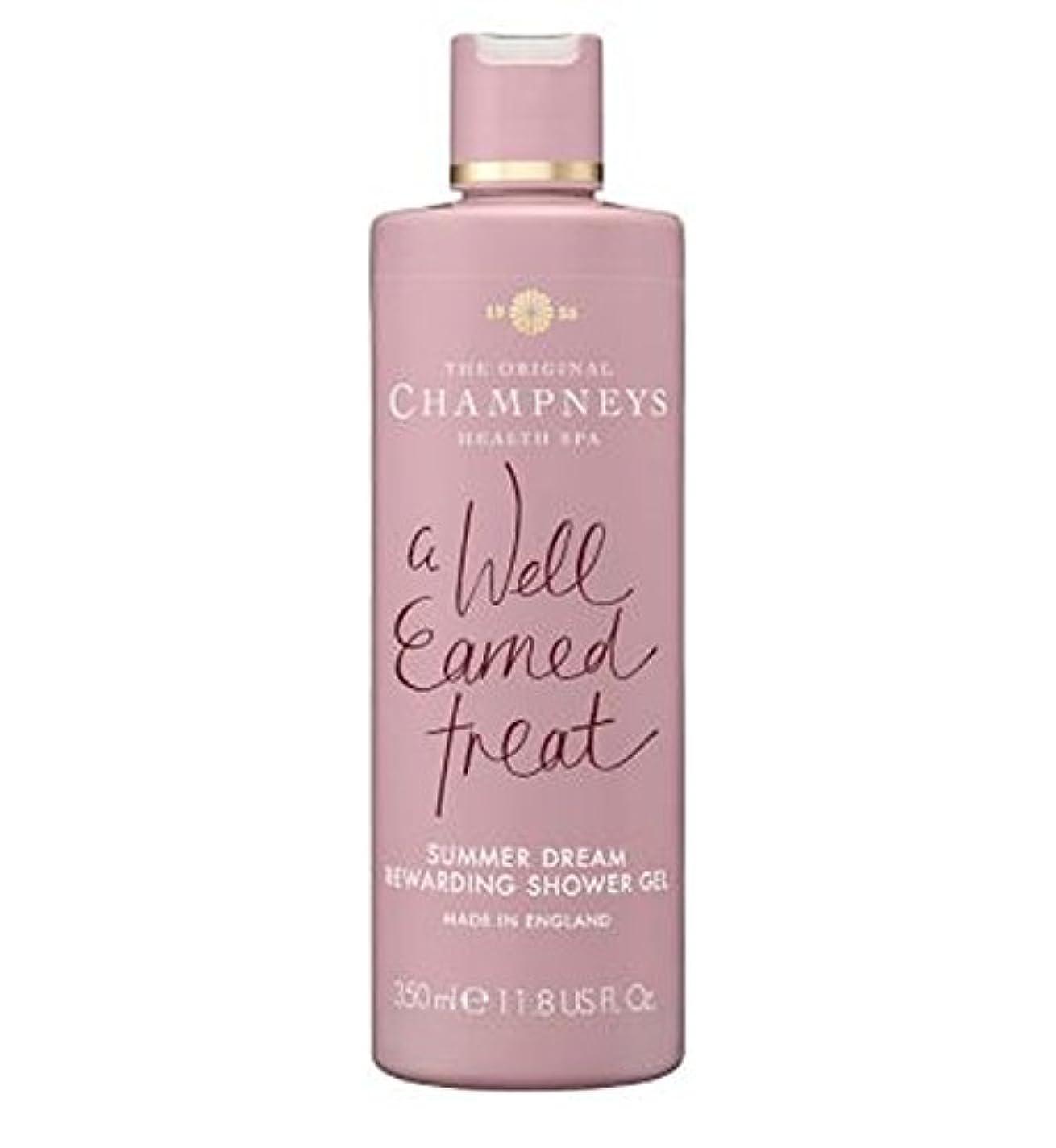実装する鳩共同選択Champneys Summer Dream Rewarding Shower Gel 350ml - チャンプニーズの夏の夢やりがいのシャワージェル350ミリリットル (Champneys) [並行輸入品]