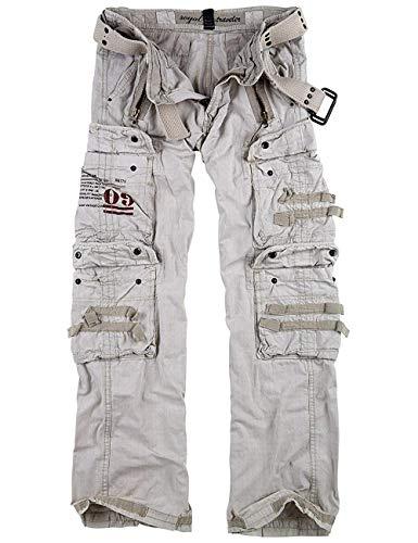 Trooper Royal Traveler Trousers Lightning Edition, royalwhite, XXL