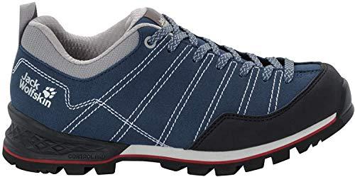 Jack Wolfskin Damen Scrambler Low W 4036671 Walking-Schuh, Blue/Black, 43 EU