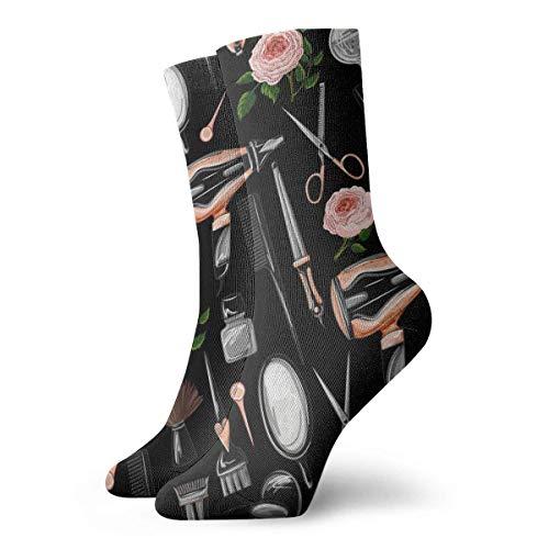 Preisvergleich Produktbild Tammy Jear Unisex Socken Friseur Tools-1 Mode Neuheit Trockensportsocken