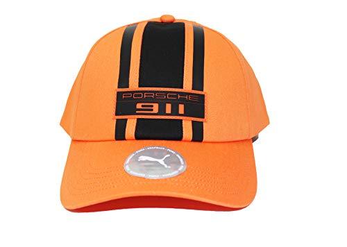 PUMA x Porsche Legacy Adjustable Snapback Baseball Cap (Orange)