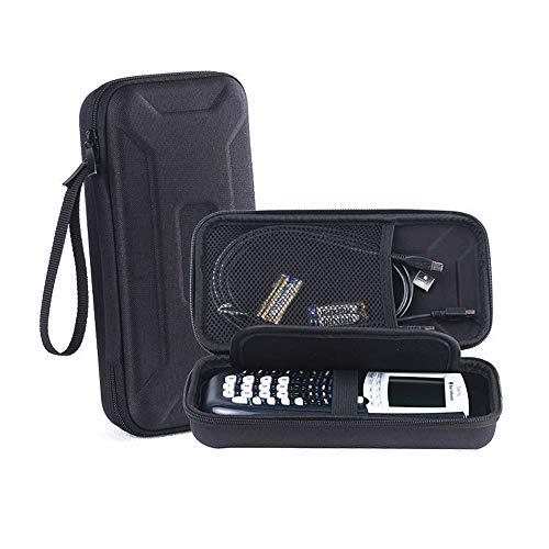 KT-CASE Caja Texas Instruments TI-84 Plus,para Texas Instruments TI-84 Ti-83 Ti-85 Ti-89 Ti-82 Plus/C CE Calculadora Bolsa de Almacenamiento (Negro)