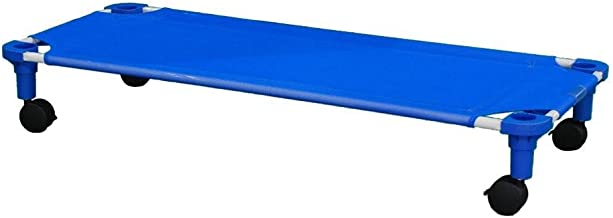product image for Assembled Toddler Blue Cot Dolly with Blue Legs - 1 Pack