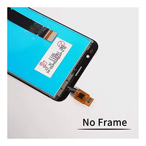 JLZK Preciso 5.5' LCD For Ajuste Original Asamblea ASUS Zenfone IR TV X013D ZB551KL Pantalla LCD de Pantalla táctil con un Ajuste de tramas de LCD ASUS GO TV Bien (Color : Black with Frame)